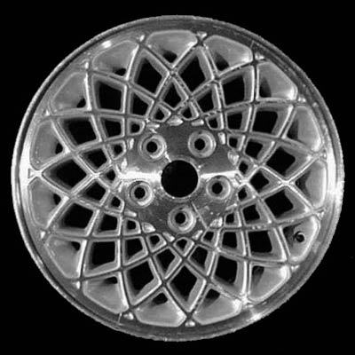 Chrysler Town And Country 1994-1995 15x6 Silver Factory Replacement Wheels