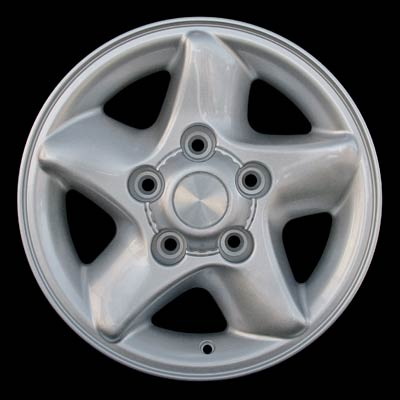 Dodge Ram 1996-2001 16x7 Silver Factory Replacement Wheels