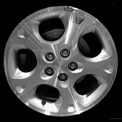 Chrysler Sebring Coupe 1997-2000 16x6.5 Silver Factory Replacement Wheel