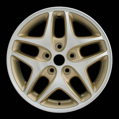 Dodge Caravan 1998-2000 16x6 Machined Lip/Face Factory Replacement Wheels