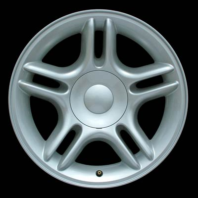 Dodge Dakota 1998-2004 17x9 Silver Factory Replacement Wheels