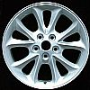 2000 Chrysler 300m  17x7 Bright Silver Factory Replacement Wheels