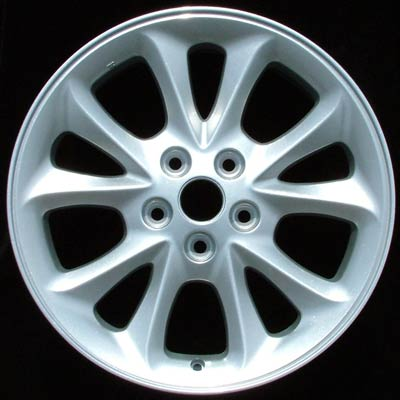 Chrysler 300m 1999-2001 17x7 Chrome Factory Replacement Wheels