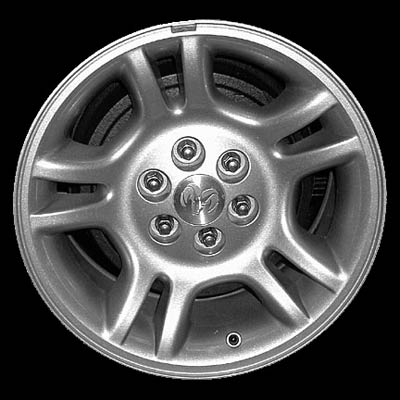Dodge Dakota 2001-2002 16x8 Bright Silver Factory Replacement Wheels