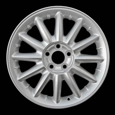 Chrysler Sebring Coupe 2001-2003 16x6.5 Bright Silver Factory Replacement Wheel
