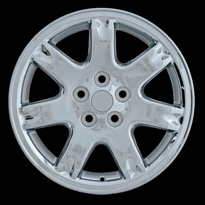 Chrysler Sebring Coupe 2001-2002 17x6.5 Silver Factory Replacement Wheel