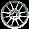 2002 Chrysler Lhs  17x7 Silver Factory Replacement Wheels