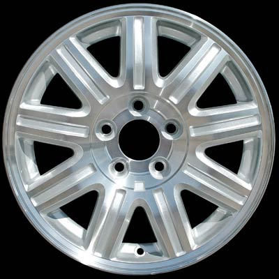 Chrysler Town And Country 2004-2007 16x6.5 Silver Factory Replacement Wheels
