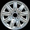2004 Chrysler Town And Country  16x6.5 Silver Factory Replacement Wheels