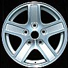 2004 Dodge Durango  17x8 Chrome Factory Replacement Wheels