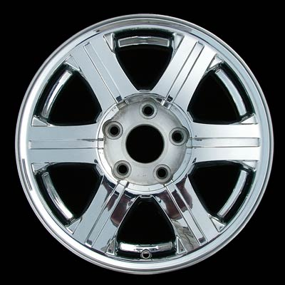 Chrysler Pacifica 2004-2007 17x7.5 Chrome Factory Replacement Wheels