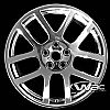 Dodge Ram 2004-2006 22x10 Chrome Factory Replacement Wheels