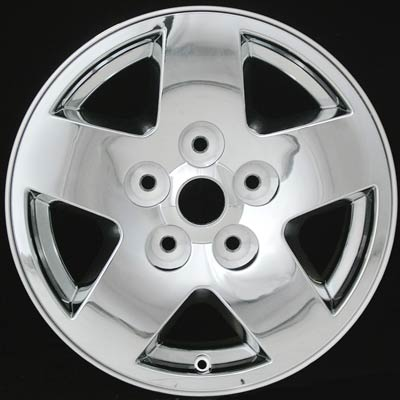 Dodge Dakota 2005-2007 17x8 Chrome Factory Replacement Wheels