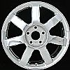 2007 Chrysler Pacifica  19x7.5 Chrome Factory Replacement Wheels