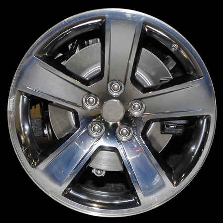 Dodge Charger 2007-2008 18x7.5 Chrome Factory Replacement Wheels