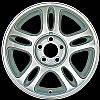 1997 Ford Mustang  17x8 Machined Factory Replacement Wheels