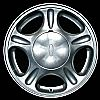 1998 Ford Taurus  15x6 Silver Factory Replacement Wheels
