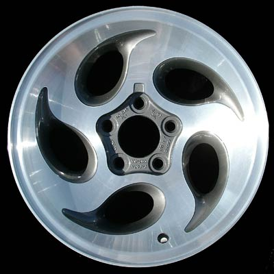 Ford Explorer 1995-2001 15x7 Silver Factory Replacement Wheels