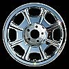 1998 Lincoln Towncar  16x7 Chrome Factory Replacement Wheels