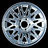 1998 Lincoln Town Car  16x7 Silver Factory Replacement Wheel