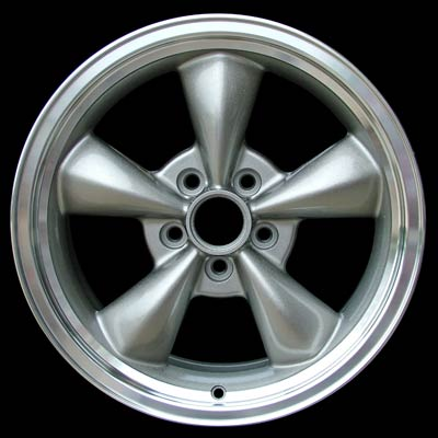 Ford Mustang 1995-2004 17x8 Bright Silver Factory Replacement Wheels