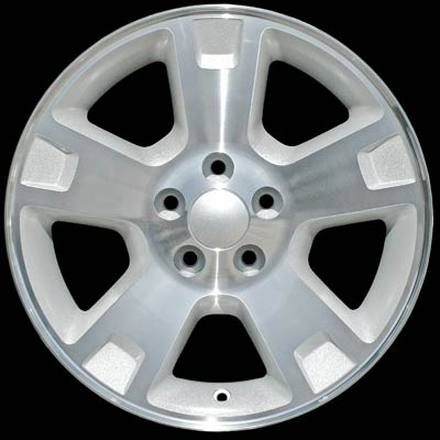 Ford F150 2002-2004 17x7.5 Bright Silver Factory Replacement Wheels