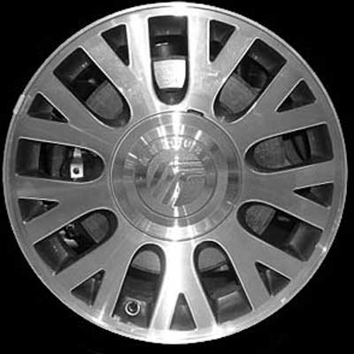 Mercury Grand Marquis 2003-2004 16x7 Bright Silver Factory Replacement Wheels