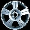 2003 Ford Focus  16x6.5 Silver Factory Replacement Wheels