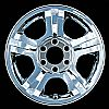 2005 Ford Expedition  17x7.5 Chrome Factory Replacement Wheels