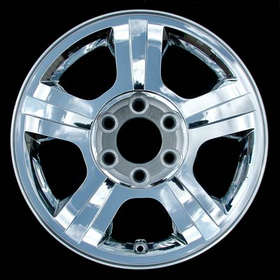 Ford Expedition 2005-2006 17x7.5 Chrome Factory Replacement Wheels