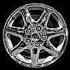 2002 Cadillac Deville  16x7 Chrome Factory Replacement Wheels