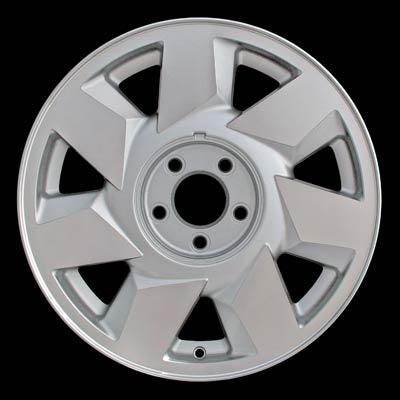 Cadillac Deville 2000-2000 17x7.5 Bright Silver Factory Replacement Wheels