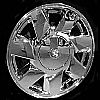 2002 Cadillac Deville  17x7.5 Chrome Factory Replacement Wheels