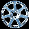 Cadillac Cts 2004-2005 17x7.5 Polished Factory Replacement Wheels