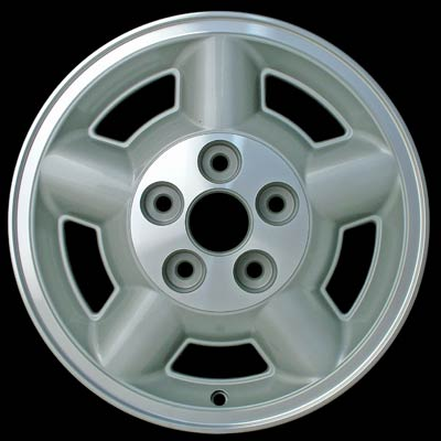 Chevrolet S-10 Pickup 1995-2004 15x7 Machined Factory Replacement Wheel