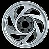 2002 Chevrolet S-10 Pickup  15x7 Machined Factory Replacement Wheel