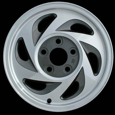 Chevrolet S-10 Pickup 1995-2002 15x7 Machined Factory Replacement Wheel