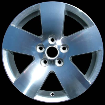 Chevrolet Malibu 2006-2007 16x6.5 Silver Factory Replacement Wheels