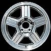 1999 Chevrolet S-10 Pickup  16x8 Machined Factory Replacement Wheel