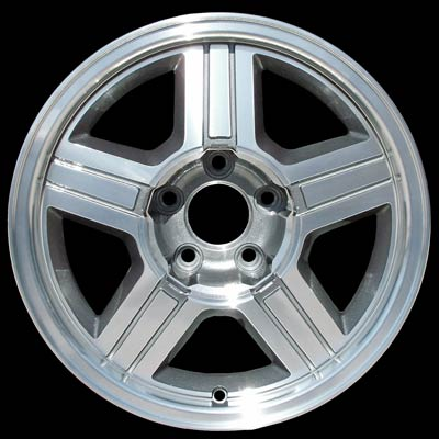Chevrolet S-10 Pickup 1996-2000 16x8 Machined Factory Replacement Wheel