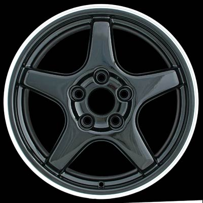 Chevrolet Corvette 1996-1996 17x8.5 Machined Factory Replacement Wheels