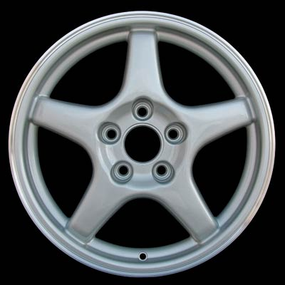 Chevrolet Corvette 1996-1996 17x8.5 D-Bright Silver Factory Replacement Wheels