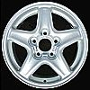 1997 Chevrolet Camaro  16x8 Bright Silver Factory Replacement Wheels
