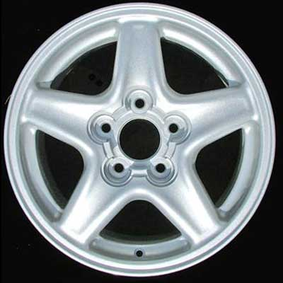 Chevrolet Camaro 1997-2001 16x8 Bright Silver Factory Replacement Wheels