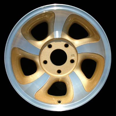 Chevrolet S-10 Pickup 1998-2004 15x7 Machined Factory Replacement Wheel