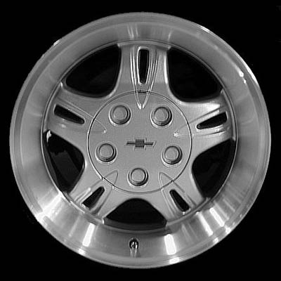 Chevrolet S-10 Pickup 1999-2001 16x8 Machined Factory Replacement Wheel