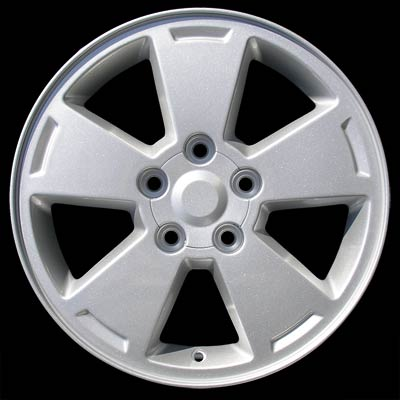 Chevrolet Impala 2006-2007 16x6.5 Silver Factory Replacement Wheels