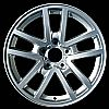 2000 Chevrolet Camaro  17x9 Silver Factory Replacement Wheels