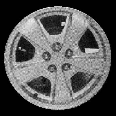 Chevrolet Cavalier 2000-2002 16x6 Silver Factory Replacement Wheels