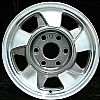 2001 GMC Suburban  16x7 Machined Factory Replacement Wheel